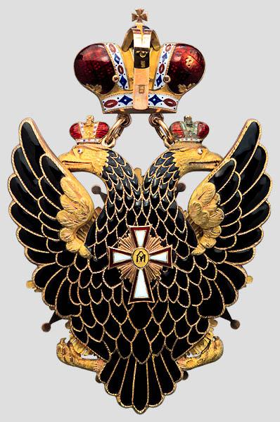 Как польский Белый Орел оказался в России