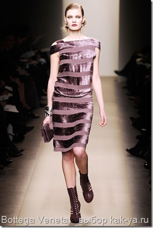 Модные платья осень зима 2010 года
